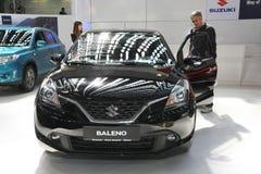 Suzuki bij het Car Show van Belgrado Stock Foto's
