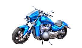 Suzuki Boulevard M109R motorcycle isolated on white background Stock Photography