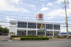 Suzuki car showroom and service center Stock Images