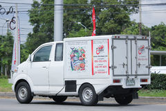 Suzuki Carry Pick up Truck with Sportcab Stock Image