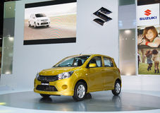 Suzuki Celerio car on display Royalty Free Stock Photos