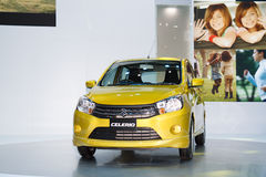 Suzuki Celerio car on display Royalty Free Stock Images
