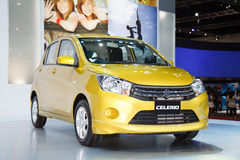 Suzuki Celerio car on display Stock Images
