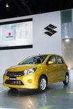 Suzuki Celerio car on display Stock Image