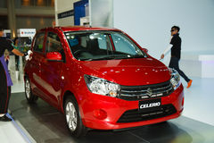 Suzuki Celerio car on display Royalty Free Stock Image