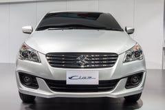 Suzuki Ciaz, an eco car sedan, on display Royalty Free Stock Photo