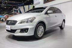 Suzuki Ciaz, an eco car sedan, on display Royalty Free Stock Image