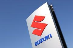 Suzuki dealership sign Stock Images