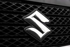 Suzuki do sinal do carro imagens de stock royalty free