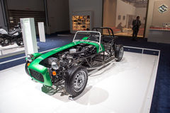 Suzuki emballant la voiture de vintage Images libres de droits
