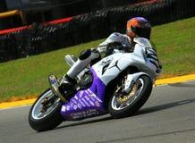 Suzuki emballant le vélo Photos stock