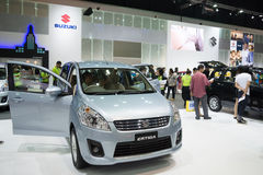 Suzuki Ertiga on display Stock Image
