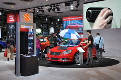 Suzuki Exhibit Stock Image