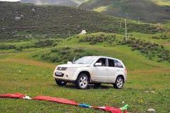 SUZUKI Grand Vitara Mountain Journey Imagens de Stock