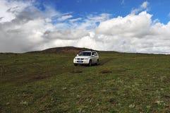 SUZUKI Grand Vitara Mountain Journey Royalty Free Stock Photo