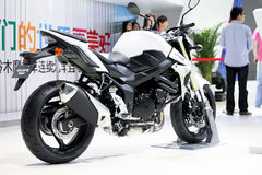Suzuki GSR 750. 2006 Suzuki GSR600 after launch, Japan bikers seriously dissatisfied with the Suzuki approach, because the GSR simply do not sell in the domestic Stock Photography