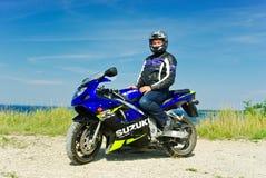 Suzuki GSXR 600 Stock Images