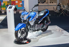 Suzuki GW 250 Royalty-vrije Stock Foto's