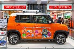 Suzuki Hustler. OSAKA, JAPAN - NOVEMBER 22 2015: Suzuki Hustler - a compact SUV, RJC (The Automotive Researchers' and Journalists' Conference of Japan) Car Stock Photography