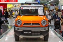 Suzuki Hustler. OSAKA, JAPAN - NOVEMBER 22 2015: Suzuki Hustler - a compact SUV, RJC (The Automotive Researchers' and Journalists' Conference of Japan) Car Stock Images