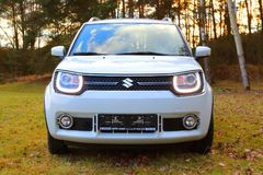 Suzuki Ignis car with 1.2 Dualjet engine. Royalty Free Stock Images