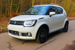 Suzuki Ignis car with 1.2 Dualjet engine. Royalty Free Stock Photos