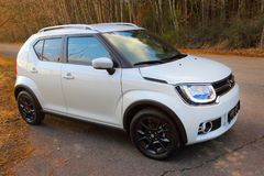 Suzuki Ignis car with 1.2 Dualjet engine. Royalty Free Stock Image