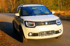 Suzuki Ignis car with 1.2 Dualjet engine. Stock Images