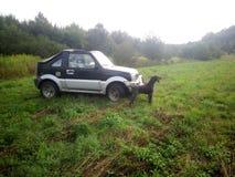 Suzuki Jimny στοκ εικόνες με δικαίωμα ελεύθερης χρήσης