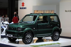 Suzuki Jimny at the AMI. Leipzig, Germany Stock Photos