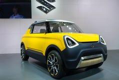Suzuki Mighty Deck Concept Car ha presentato sul salone dell'automobile di Nagoya 2015 a Nagoya, Giappone immagine stock libera da diritti