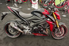 Suzuki motocykl Obraz Royalty Free