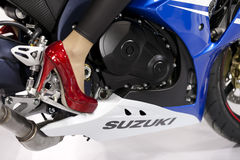 Motorcykel Fotografering för Bildbyråer
