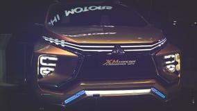 Suzuki MX pojęcia samochód na pokazie przy Wietnam motorowym przedstawieniem 2017 Zdjęcie Stock