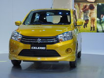 Suzuki new compact car Celerio Royalty Free Stock Images