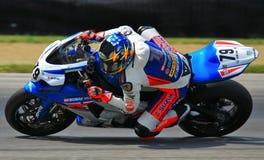 Suzuki Pro bike racing Royalty Free Stock Photos