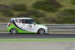 Suzuki racer Royalty Free Stock Image