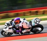 Suzuki racing bike Stock Images