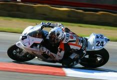 Suzuki racing bike Royalty Free Stock Photos