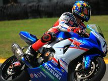 Suzuki racing Stock Photography