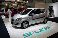 Suzuki Splash city car Stock Photography
