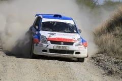 Suzuki Swift Rally Car Royalty Free Stock Images