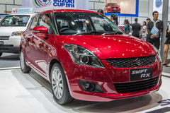 Suzuki Swift RX a compact car showed in 31th Thailand Internatio Stock Photo