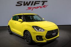 Suzuki Swift Sport-Auto 2018 Lizenzfreie Stockfotografie