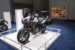 Suzuki V-Strom 650 ABS Royaltyfri Bild
