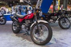 Suzuki VanVan 200 på skärm Arkivbilder