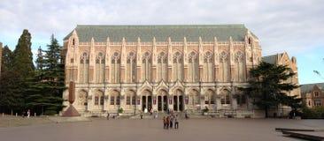Suzzallo biblioteka w UW zdjęcia royalty free