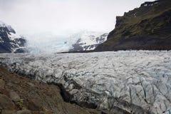 SvÃnafellsjokkul -冰川 库存图片