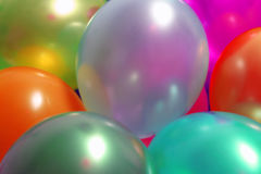 sväller färgrikt Arkivfoto