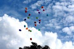sväller skyen Royaltyfri Fotografi